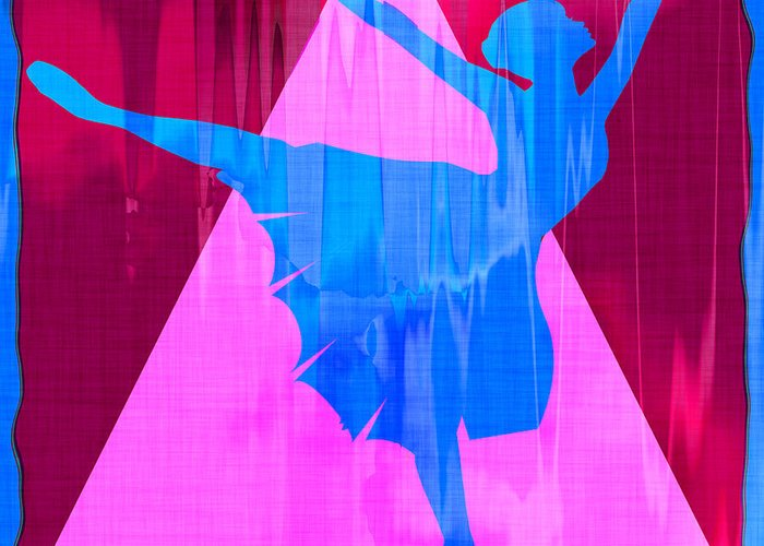 Ballet Greeting Card featuring the photograph Ballet Dancer by David G Paul