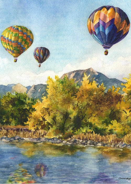 Air Balloon Greeting Cards