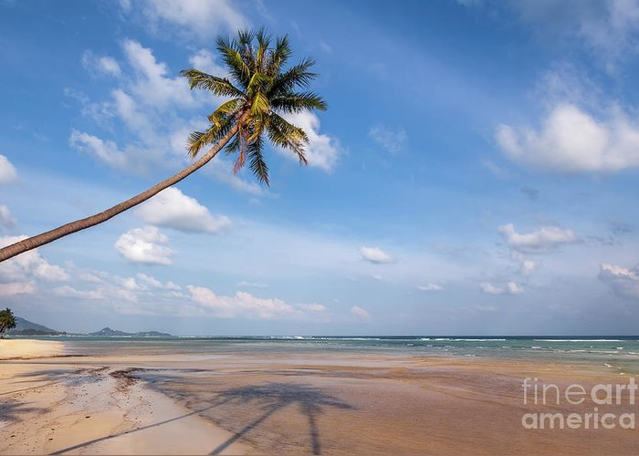 Thailand Greeting Card featuring the photograph Ban Harn Beach by Adrian Evans
