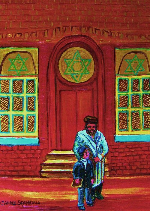 Montreal Synagogues Greeting Cards