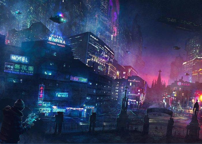Cyberpunk Stationery