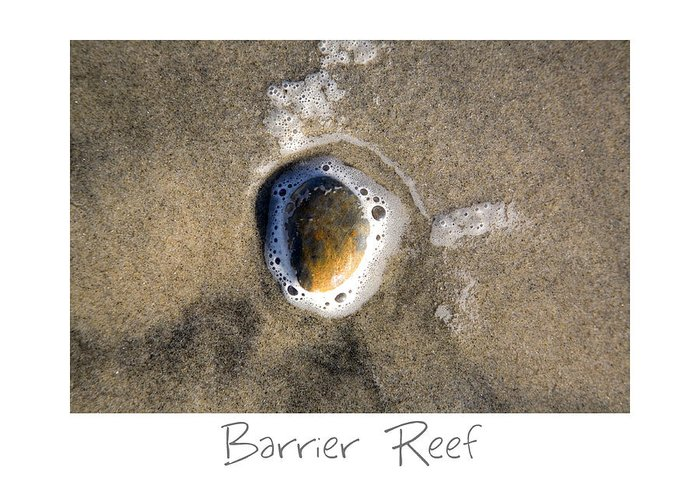 Beach Art Greeting Card featuring the photograph Barrier Reef by Peter Tellone