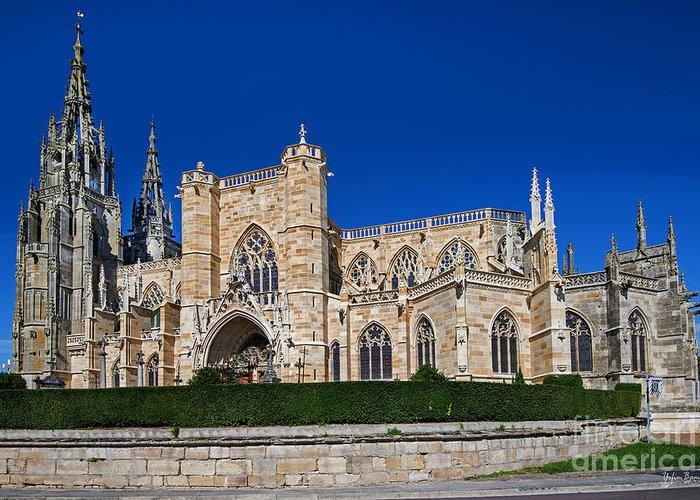 Basilique Notre-dame De L'epine Greeting Card featuring the photograph Basilique Notre - Dame De L'epine by Yefim Bam