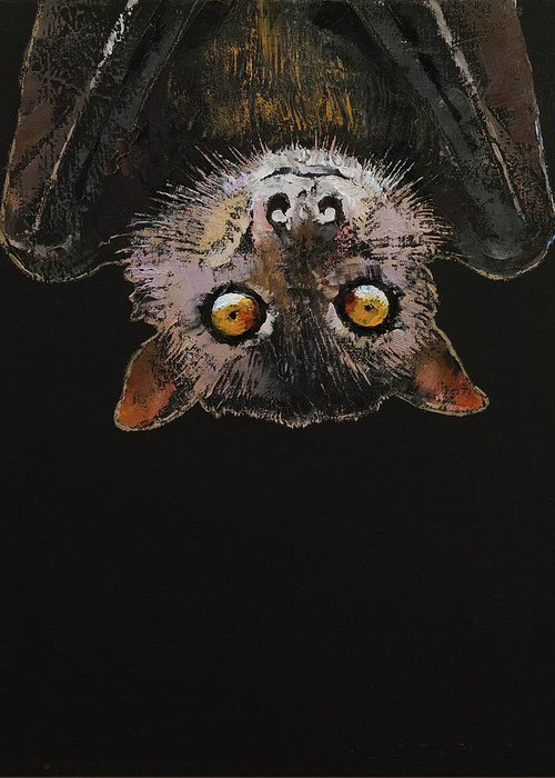Bat Wings Greeting Cards