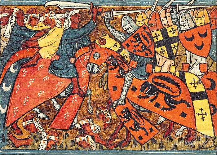 Saladin Greeting Cards