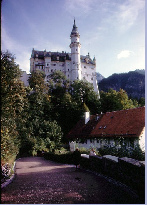 Germany Greeting Card featuring the photograph Bavarian Castle by Ron Swonger