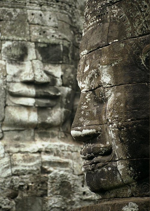 Bayon Greeting Card featuring the photograph Bayonii by Patrick Klauss