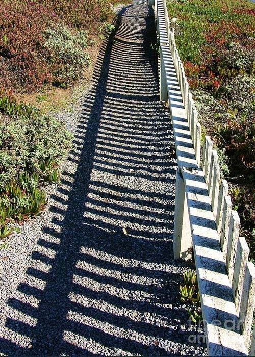 Half Moon Bay Greeting Card featuring the photograph Beach Path by Carol Groenen
