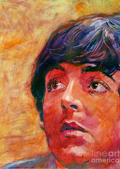 Paul Mccartney Greeting Cards