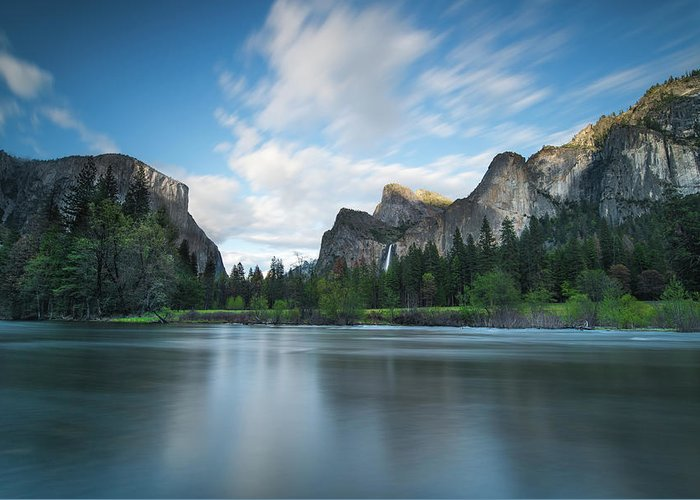 Yosemite Greeting Card featuring the photograph Beautiful Yosemite by Larry Marshall