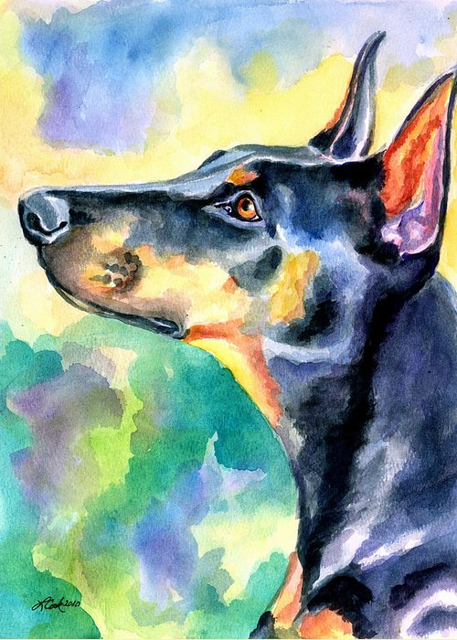 Doberman Greeting Cards