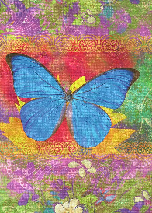 Butterfly Plants Greeting Cards