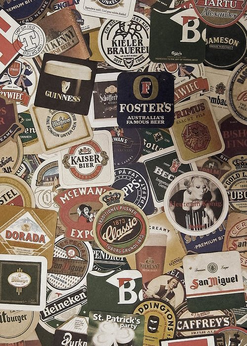 Beer Greeting Card featuring the photograph Beers of the world by Nicklas Gustafsson