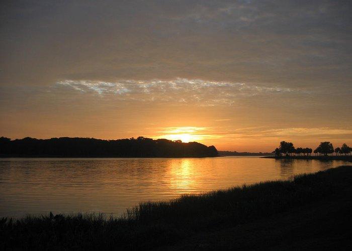 Sunrise-sunset Photographs Greeting Card featuring the photograph Beginning Light by Frederic Kohli