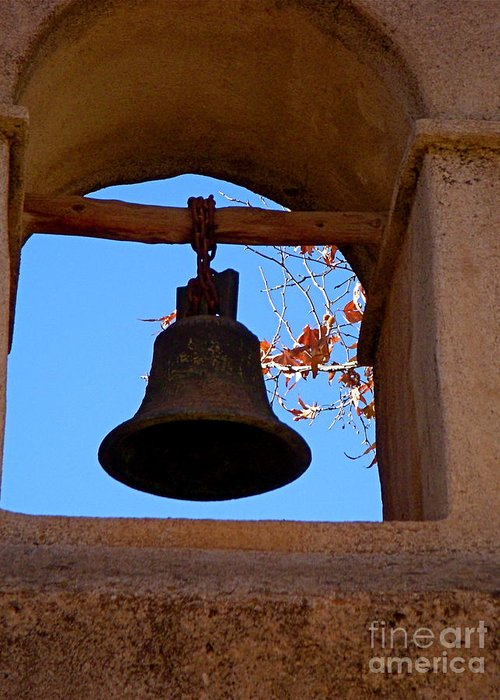 Sedona Greeting Card featuring the photograph Bell by Amy Strong