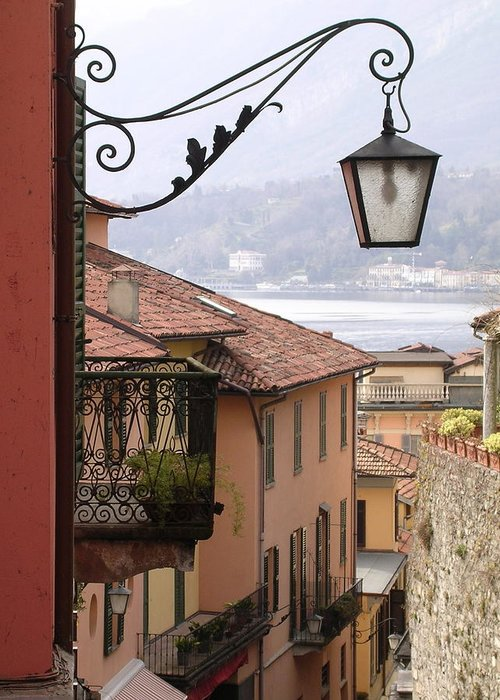 Italy Greeting Card featuring the photograph Bellagio by Marina Owens