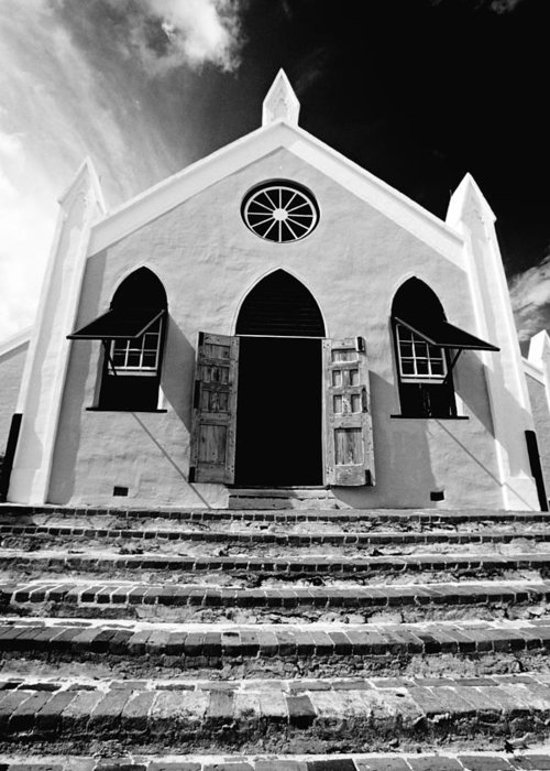 Church Greeting Card featuring the photograph Bermuda Church by George Oze