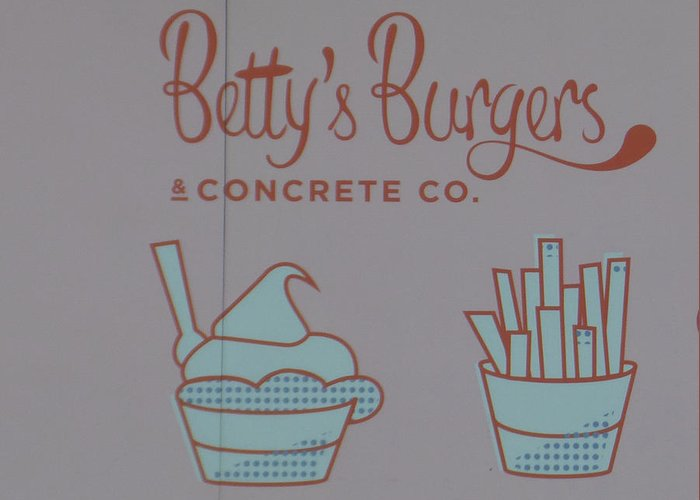 Betty's Burgers Greeting Card featuring the photograph Combo Meal by Bruce