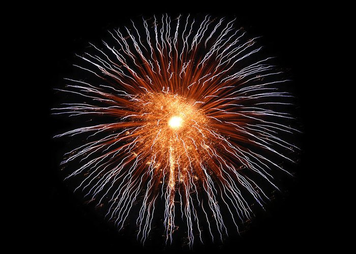 Fireworks Greeting Card featuring the photograph Big Bang by Gary Gunderson