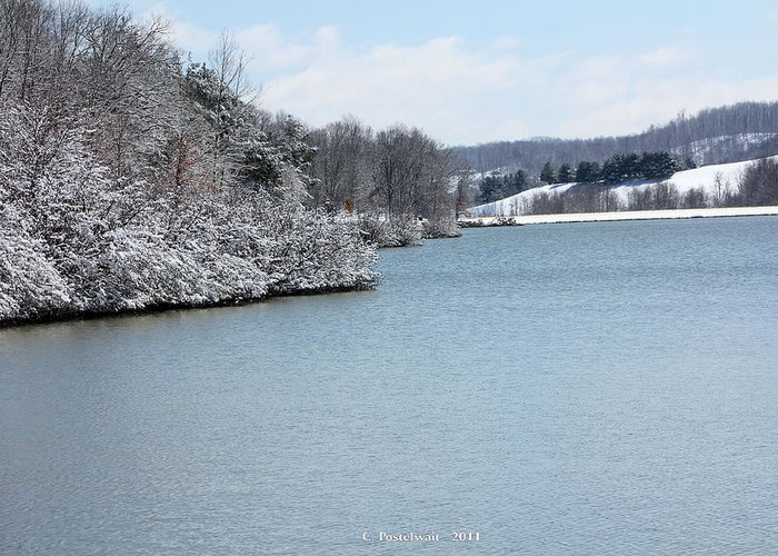 Big Ditch Lake Greeting Card featuring the photograph Big Ditch Lake 2 by Carolyn Postelwait
