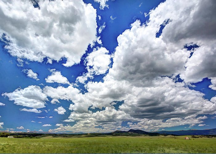 Colorado Greeting Card featuring the photograph Big Sky by Dave Thompsen