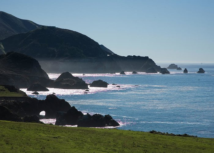 Big Sur Greeting Card featuring the photograph Big Sur by Doron Hanoch