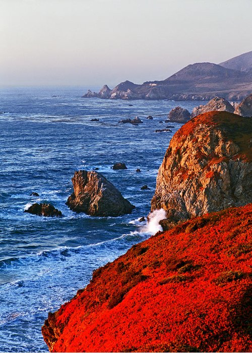 Big Sur Greeting Card featuring the photograph Big Sur by James Rasmusson