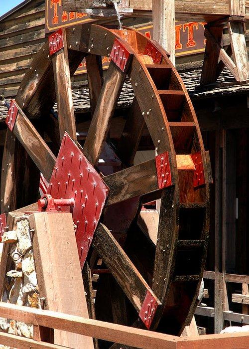 Usa Greeting Card featuring the photograph Big Wheels Keep On Turning by LeeAnn McLaneGoetz McLaneGoetzStudioLLCcom