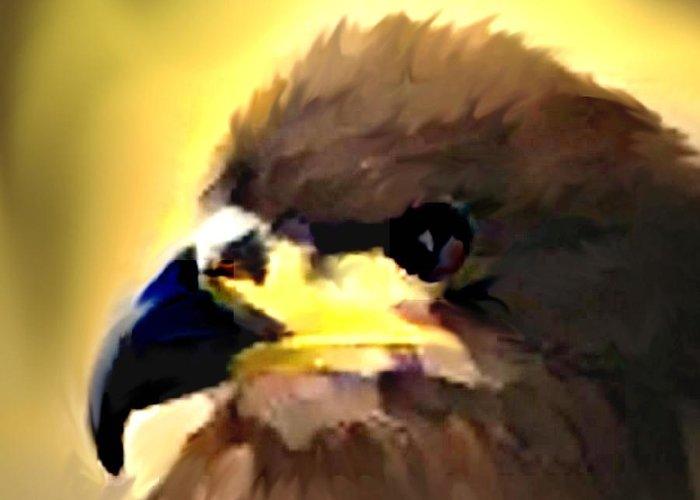 Digital Greeting Card featuring the digital art Birds 2 by Crystal Webb