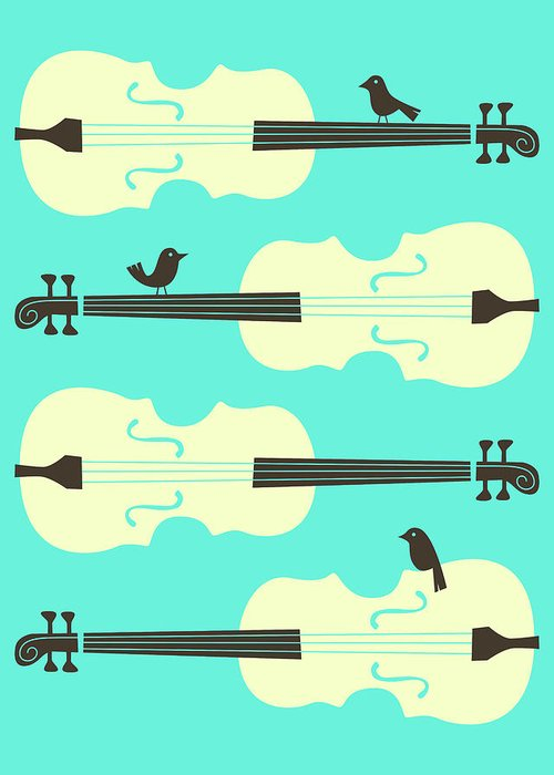Cellos Greeting Cards