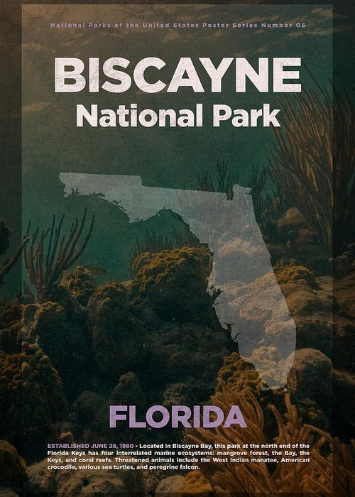 Biscayne National Park Greeting Cards
