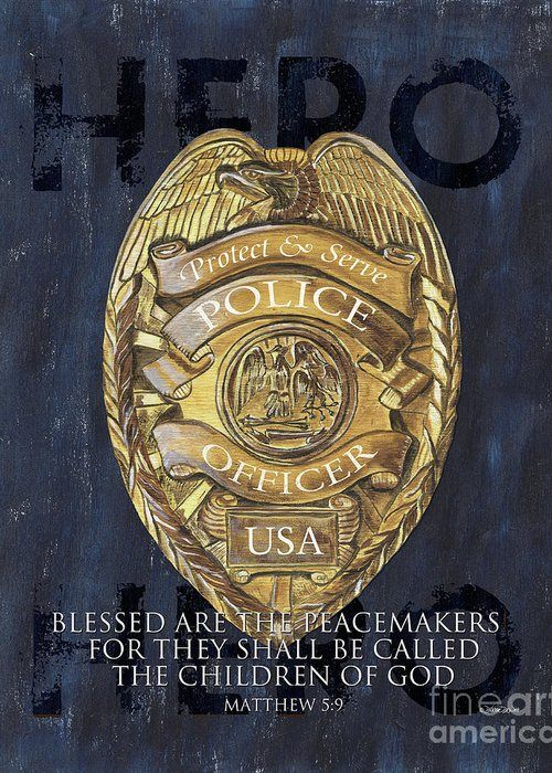 Police Cruiser Greeting Cards