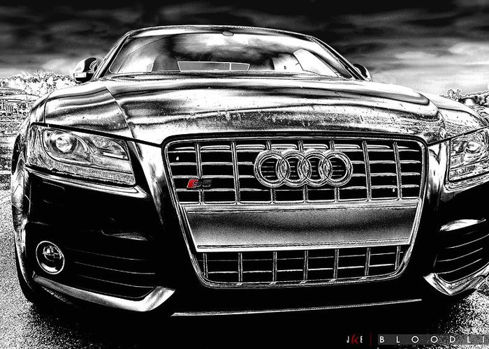 Audi Greeting Card featuring the photograph Bloodline by Jonathan Ellis Keys