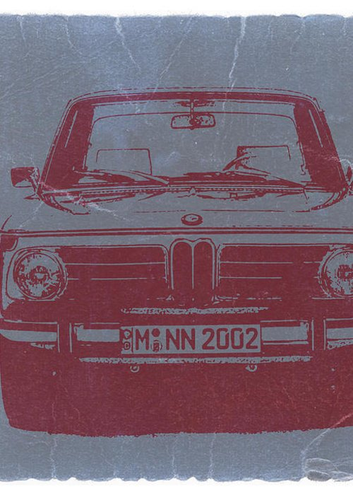 Bmw 2002 Greeting Card featuring the photograph Bmw 2002 by Naxart Studio