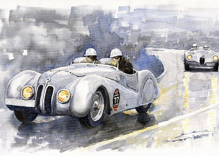 Cabriolet Greeting Cards