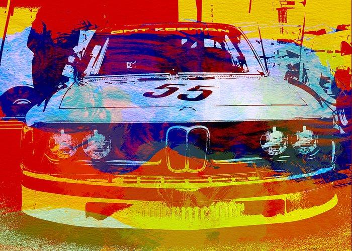 Racing Cars Greeting Cards