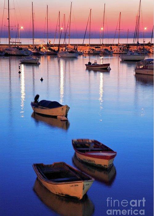 Colonia Greeting Card featuring the photograph Boats by Bernardo Galmarini