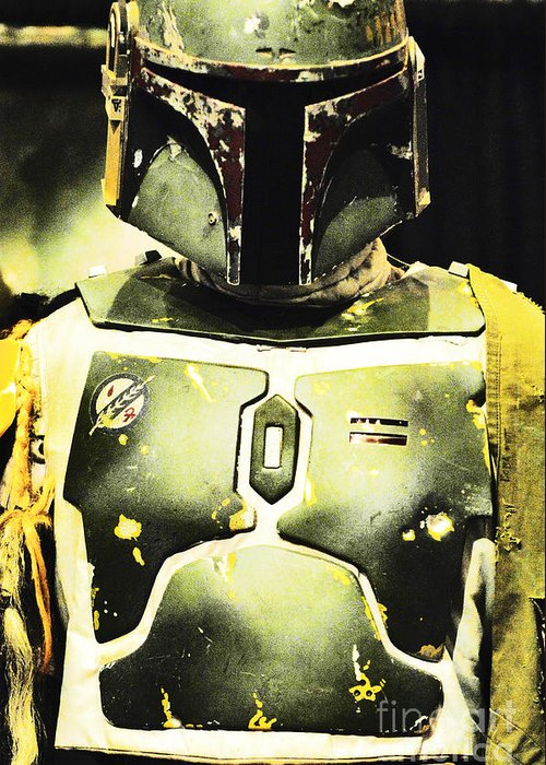 Boba Fett Greeting Card featuring the photograph Boba Fett by Micah May