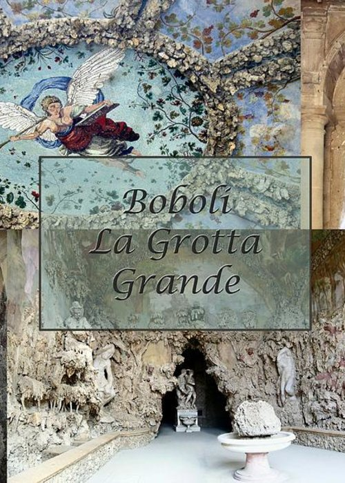 Cave Greeting Card featuring the photograph Boboli La Grotta Grande 2 by Ellen Henneke