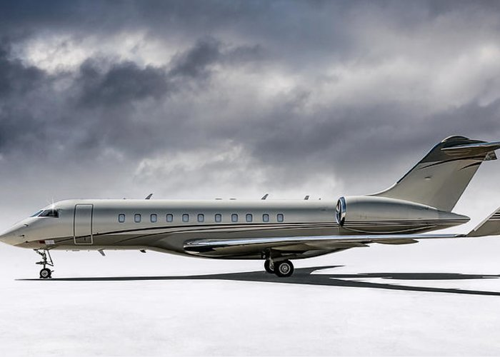 Private Jet Greeting Cards