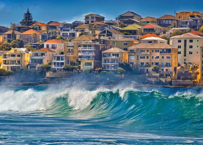Ocean Front Landscape Greeting Cards