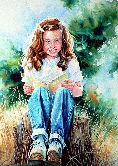 Hanne Lore Koehler Kids Art Greeting Cards