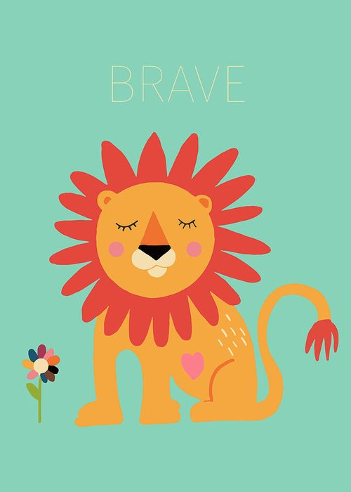 Brave Greeting Cards