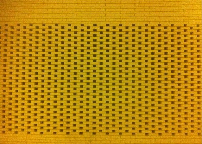 Bricks Greeting Card featuring the photograph Brickwall by Eirini Zacharaki