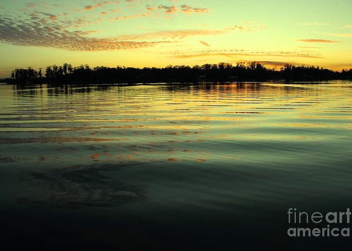 Lake Greeting Card featuring the photograph Bring Me Serenty by Maria Young