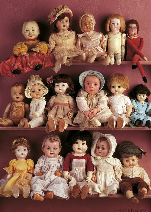 Dolls Greeting Cards