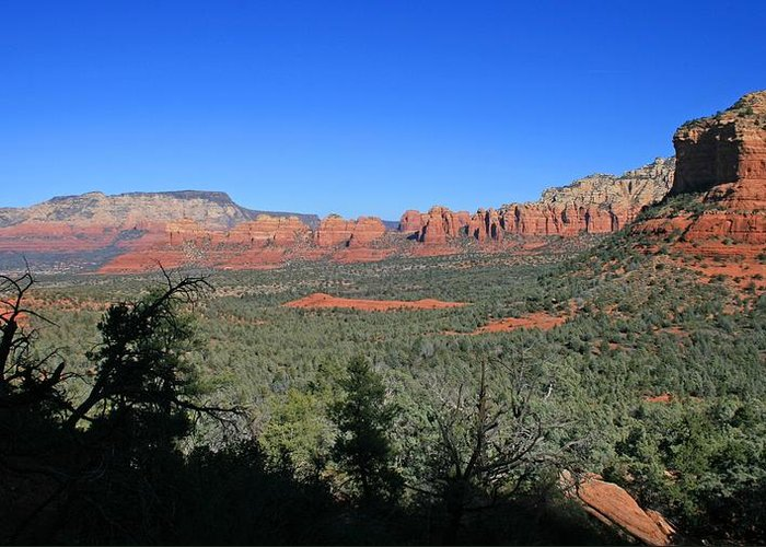 Sedona Greeting Card featuring the photograph Broken Arrow by Gary Kaylor