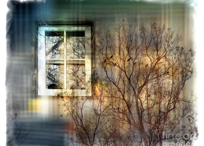 Tree Greeting Card featuring the digital art Broken Dreams by Chuck Brittenham