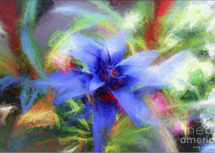 Bromeliad Mixed Media Greeting Cards