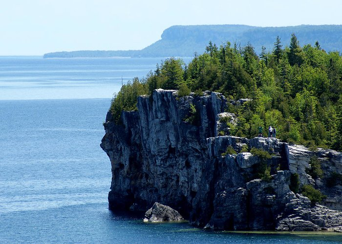 National Park Greeting Card featuring the photograph Bruce Peninsula National Park by Cale Best